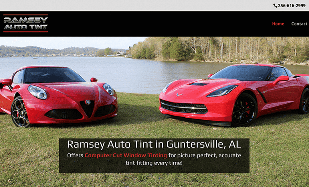 Ramsey Auto Tint Home Page