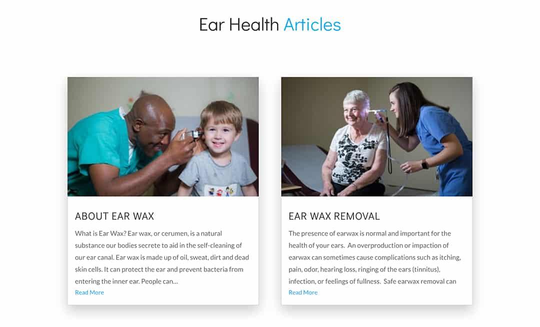 Ear Health Articles